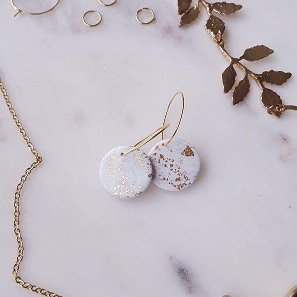 Créoles rondes Ana - Azul&joy