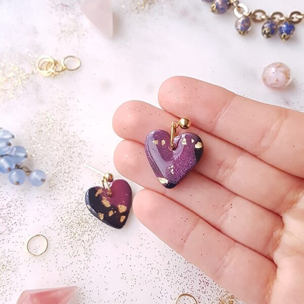 Petits coeurs Galaxie - Azul&Joy