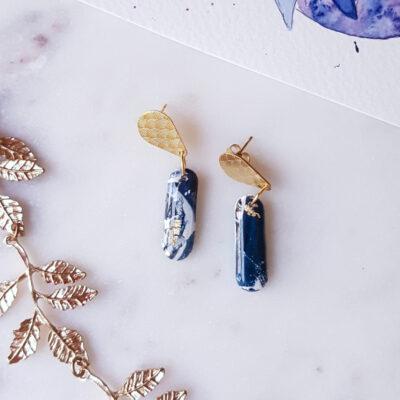 Boucles boudoir Atlantide - Azul&Joy