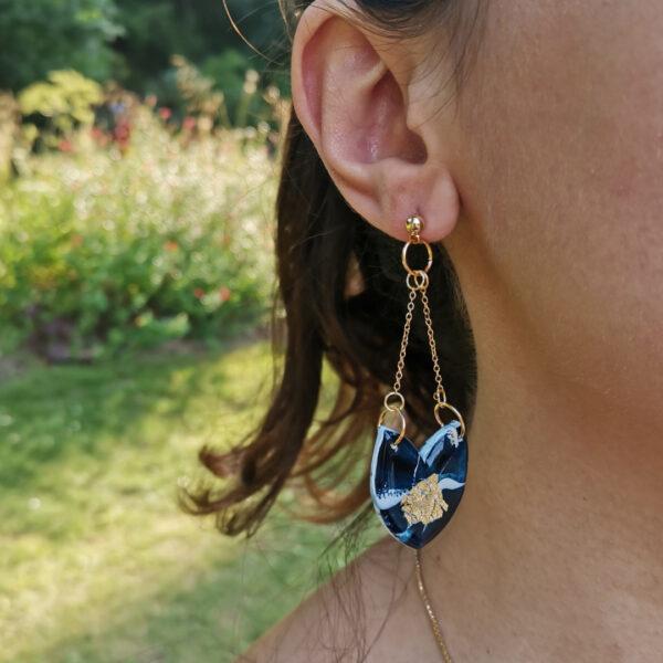 Boucles chaton Atlantide - Azul&Joy