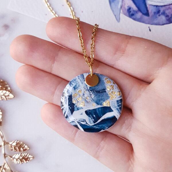 Collier rond Atlantide - Azul&Joy