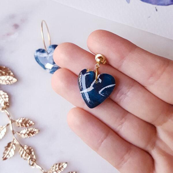 Petits coeurs Atlantide - Azul&Joy